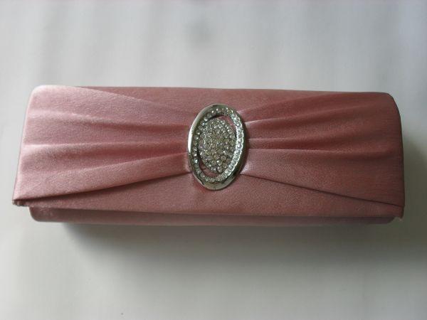 Bolsa De Festa Rose : Bolsa de festa com strass rosa tatcane parcele em
